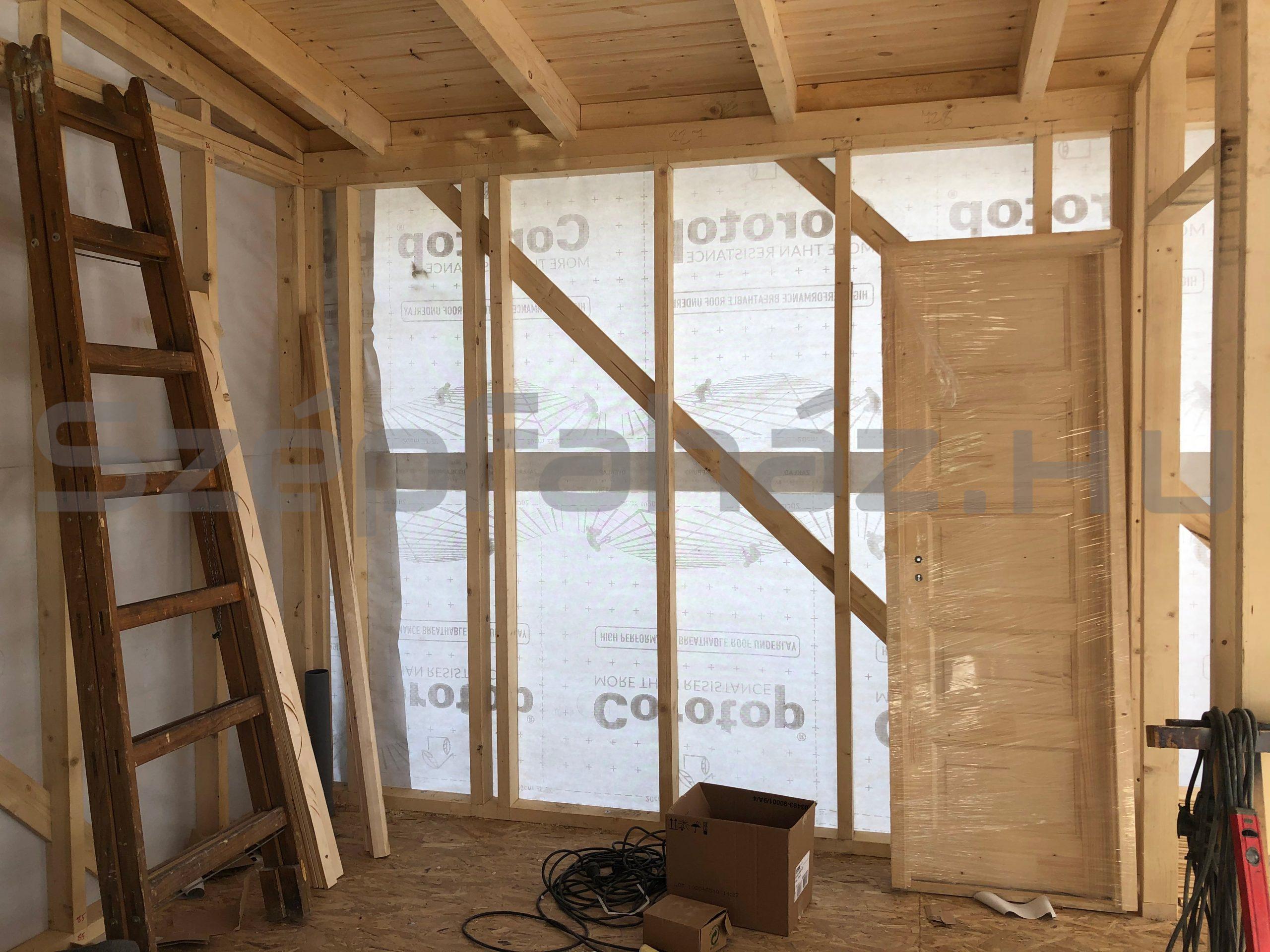 Könnyű szerkezetű faház